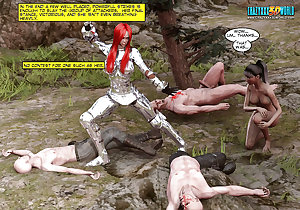 3D Comic: Blade Maidens 2