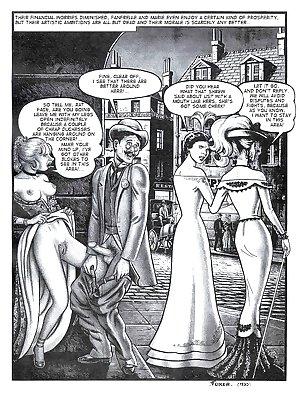 Erotic Comic Art 34 - Fanfrelle in Paris 2