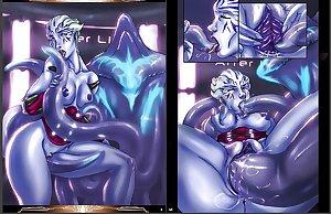 Mass Effect Asari Babes