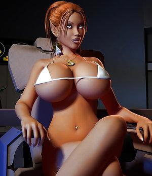 3D ---- Sexy Big Tits Girls
