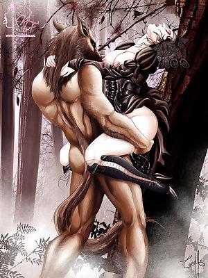 Hentai - Erotic Mythology Vol. 3 (Big Bad Wolf)